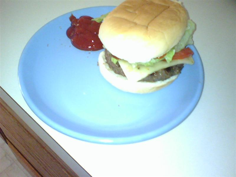 Hot Pepper Cheese Burger