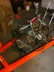 Pontiac 400 W72 Engine